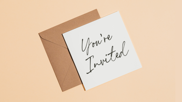 You're invited - Family Image